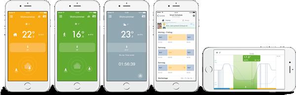 tado App für smarte Heizung